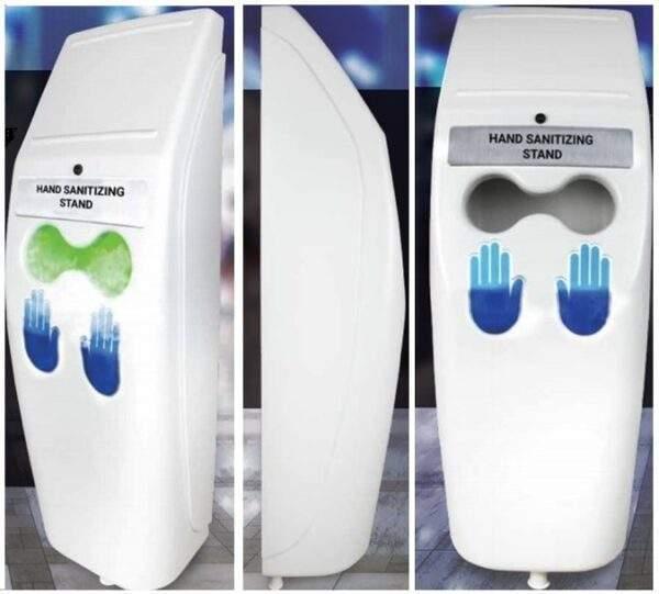 hand sanitizing stand 01